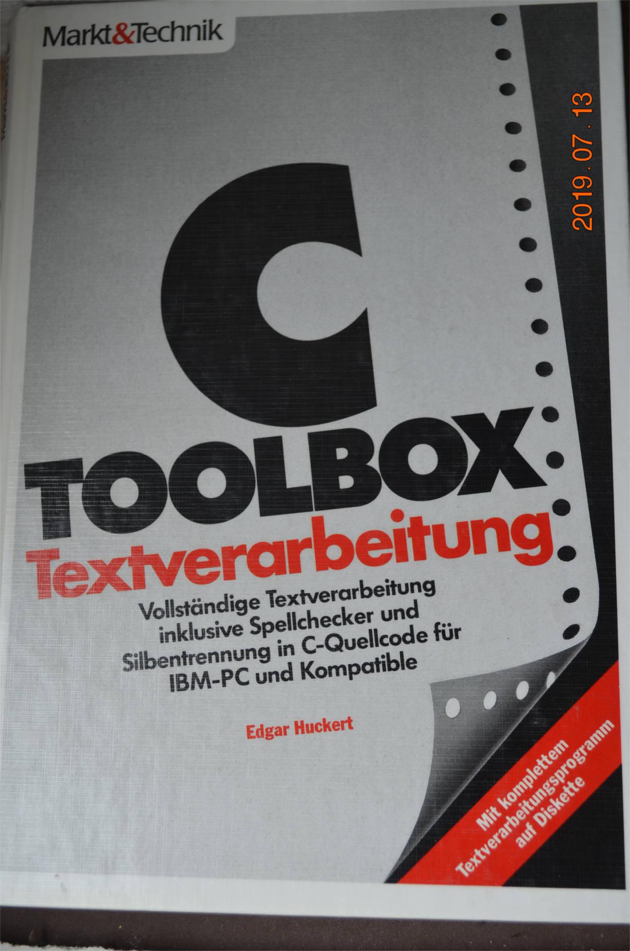 Edgar Huckert: Programming languages